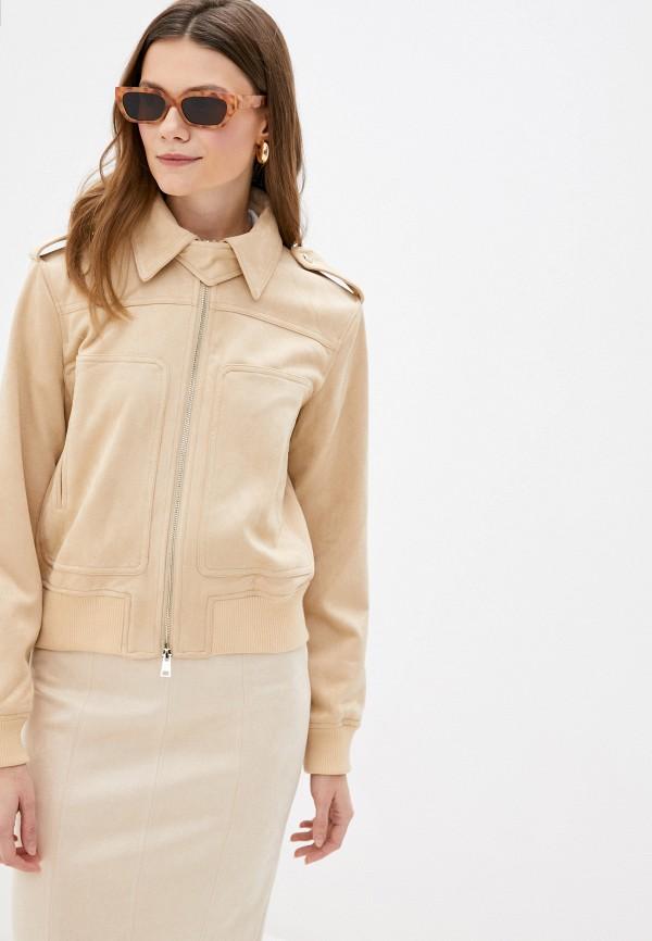женская куртка love republic, бежевая