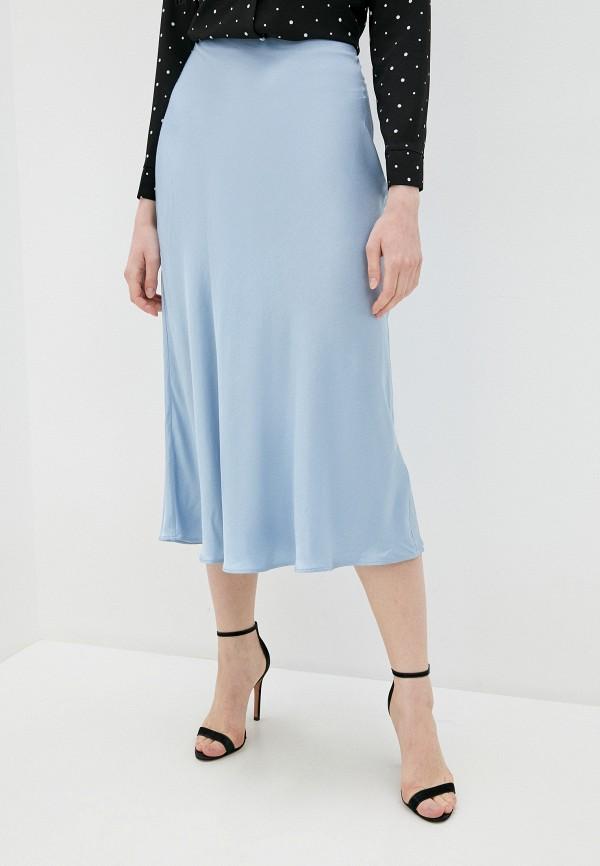 женская юбка love republic, голубая
