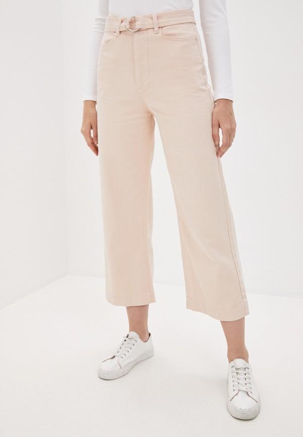 женские повседневные брюки love republic, розовые