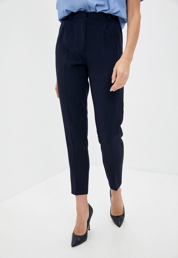 женские классические брюки love republic, синие