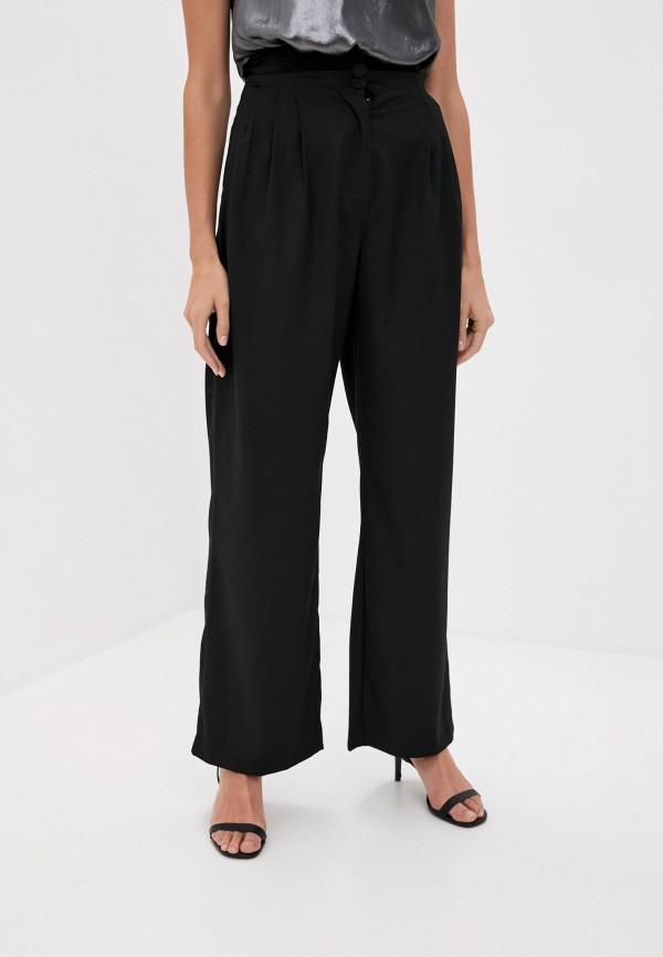 женские классические брюки love republic, черные