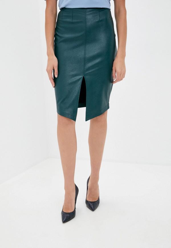 женская юбка love republic, зеленая