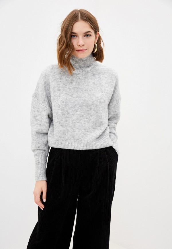 женский свитер love republic, серый