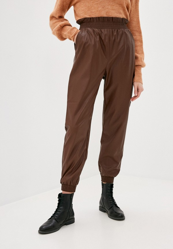 женские брюки love republic, коричневые