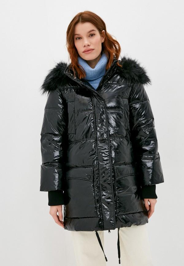 женская куртка love republic, черная