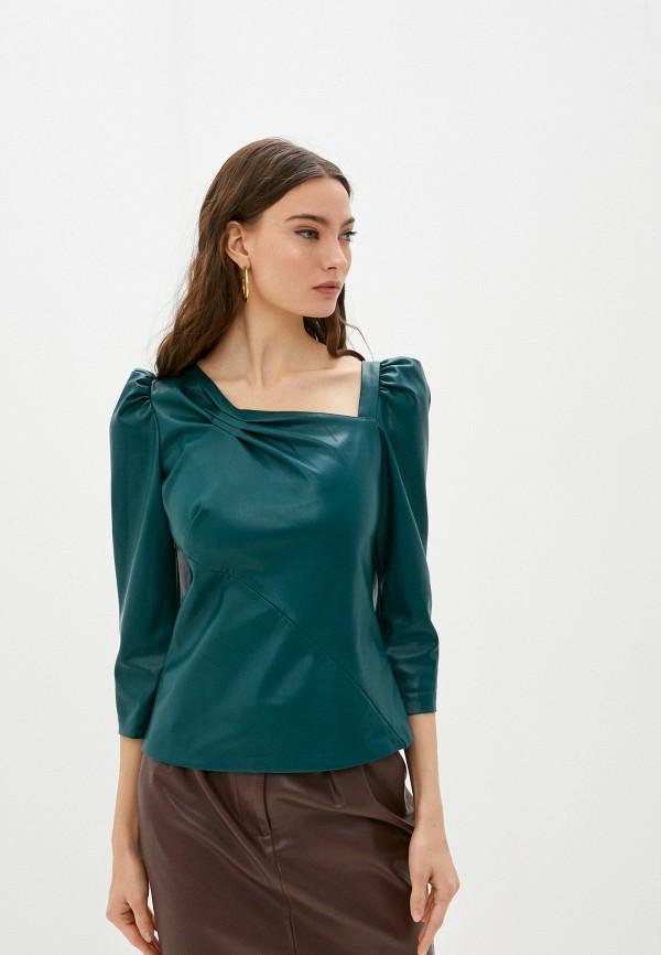 женская блузка love republic, зеленая