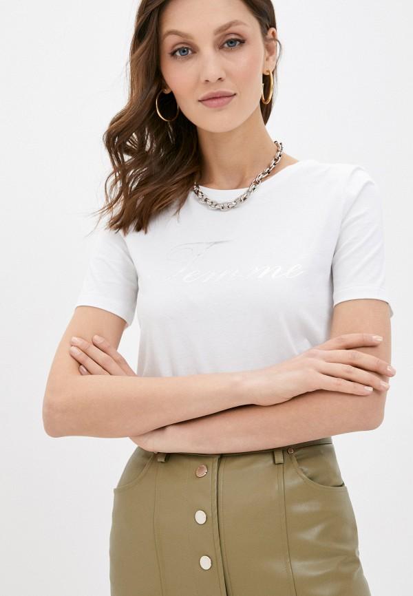 женская футболка love republic, белая