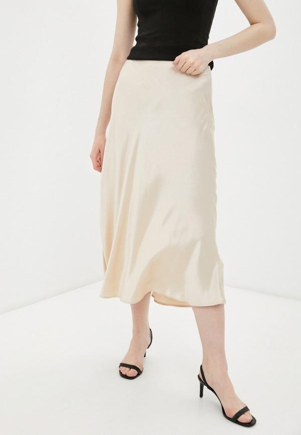 женская юбка love republic, бежевая