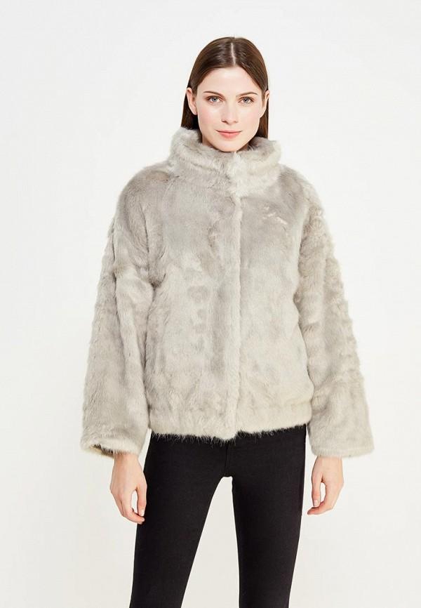 Купить Шуба Love Republic, lo022ewxsl36, серый, Осень-зима 2017/2018