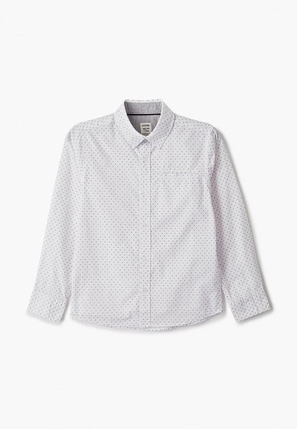 рубашка losan для мальчика, белая