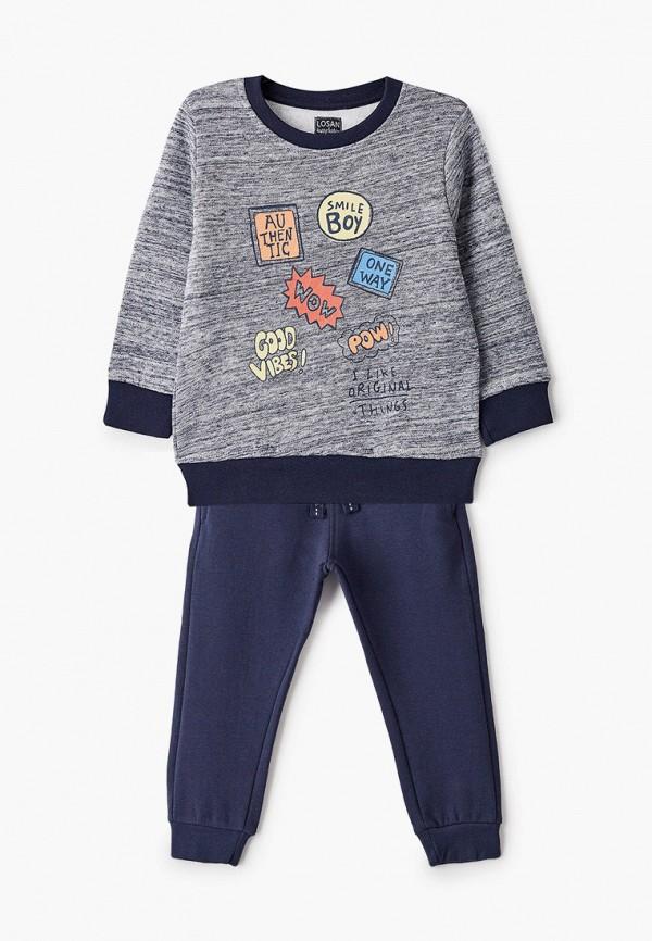 спортивный костюм losan для мальчика, синий
