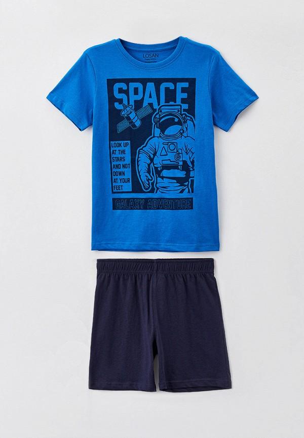 пижама losan для мальчика, синяя