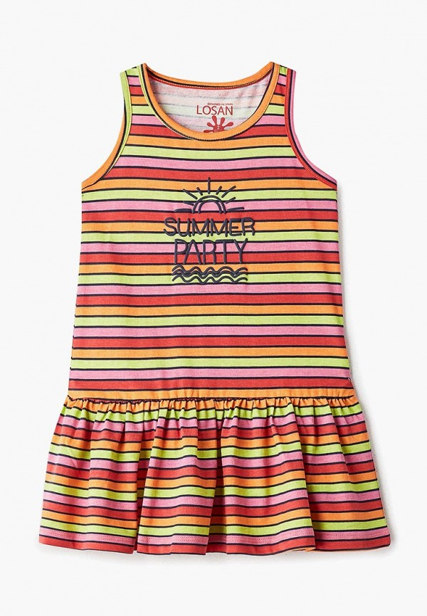 сарафан losan для девочки, разноцветный