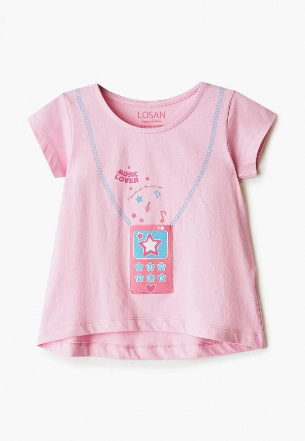 футболка losan для девочки