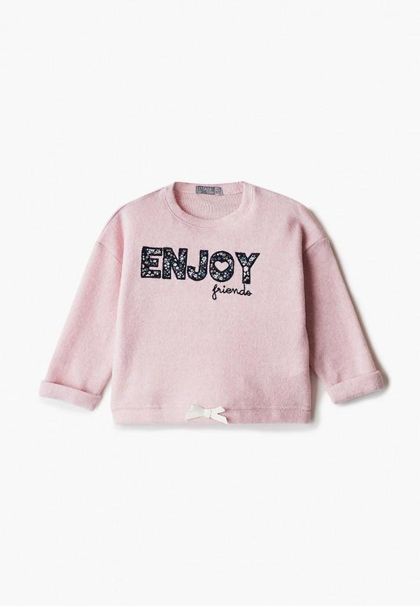 свитшот losan для девочки, розовый
