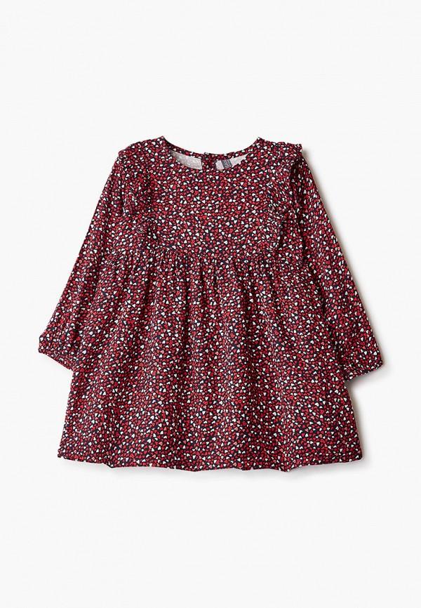 повседневные платье losan для девочки, красное