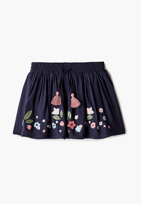 юбка losan для девочки, синяя