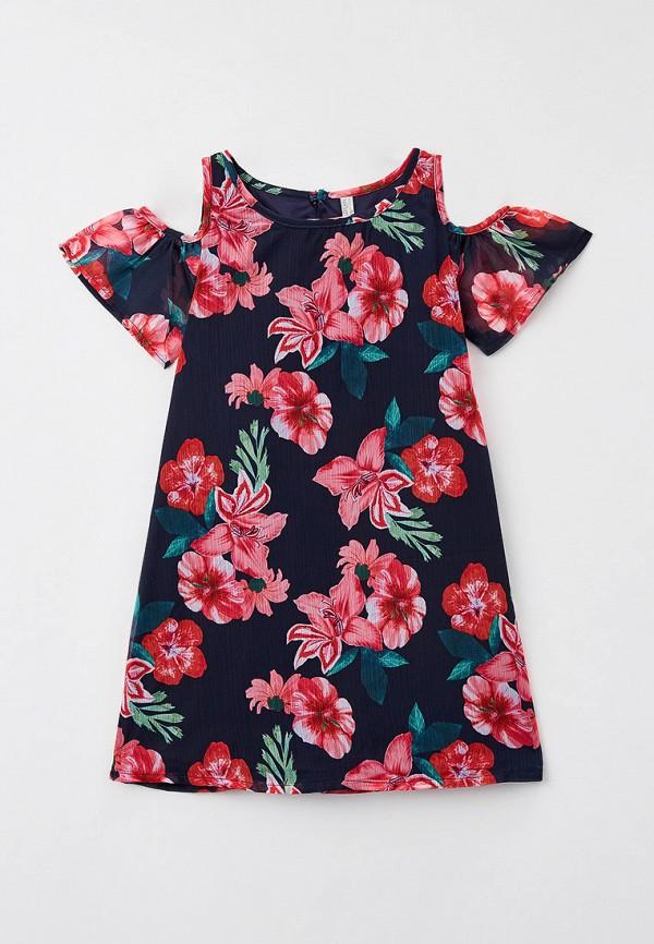 повседневные платье losan для девочки, разноцветное