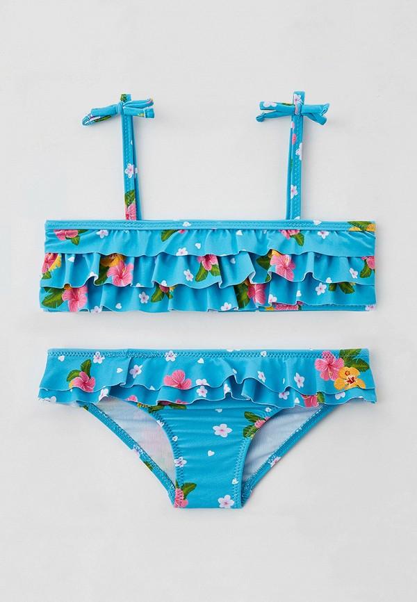 купальник losan для девочки, голубой