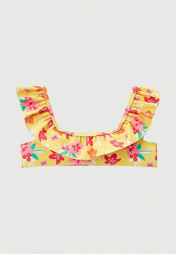 купальник losan для девочки, желтый