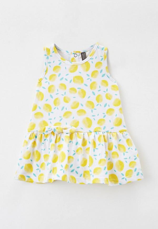 повседневные платье losan для девочки, белое