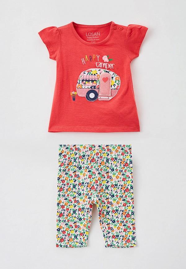 спортивный костюм losan для девочки, разноцветный
