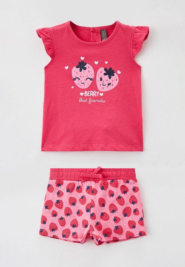 спортивный костюм losan для девочки, розовый