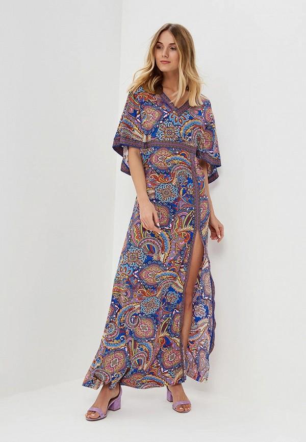 Платье пляжное Lora Grig, LO029EWAXFY3, разноцветный, Весна-лето 2018  - купить со скидкой