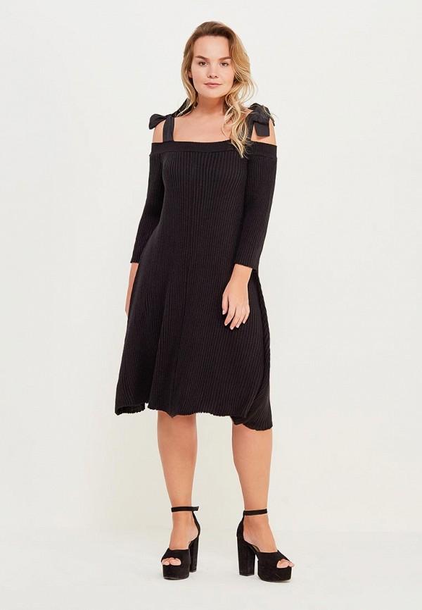 женское платье lost ink plus, черное