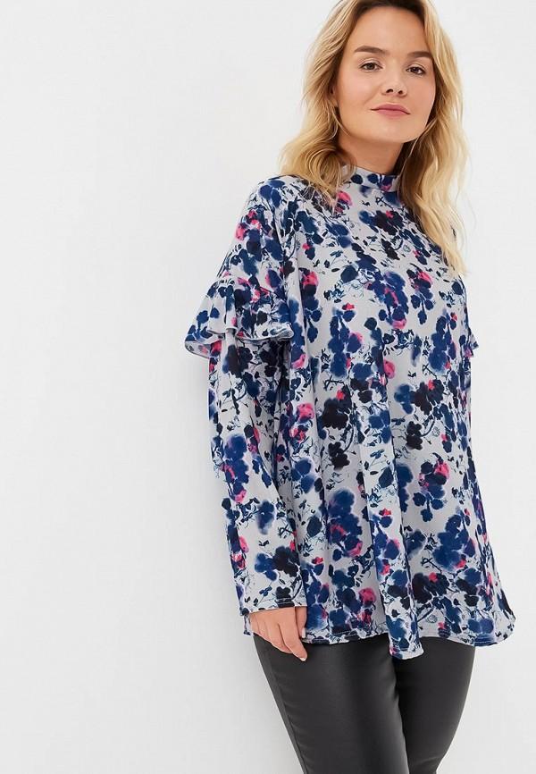 Блуза LOST INK PLUS LOST INK PLUS LO035EWCBPD9 платье lost ink plus lost ink plus lo035ewyot61