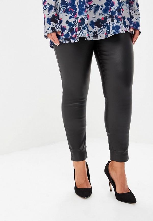 женские повседневные брюки lost ink plus, черные
