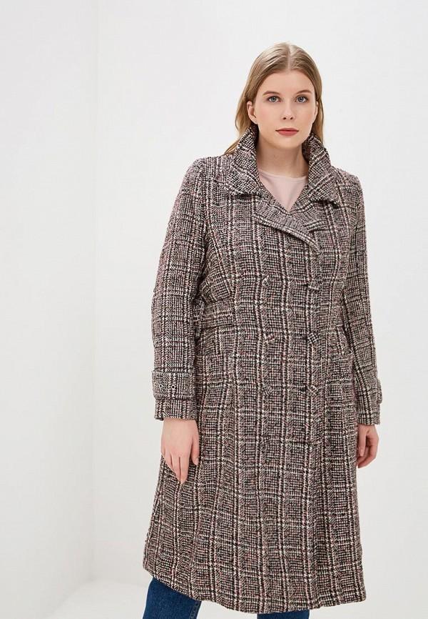 женское пальто lost ink plus, разноцветное