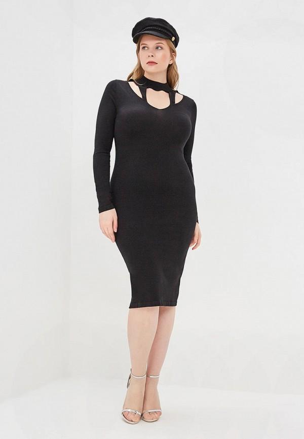 Фото 2 - Платье LOST INK PLUS черного цвета