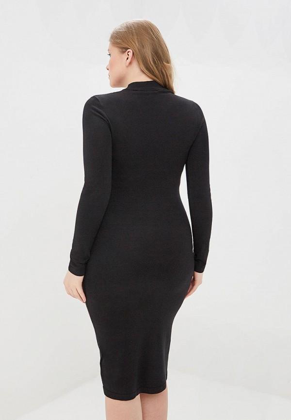 Фото 3 - Платье LOST INK PLUS черного цвета