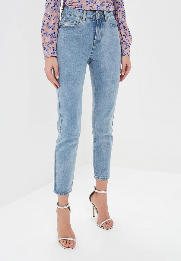 женские джинсы lost ink plus, голубые