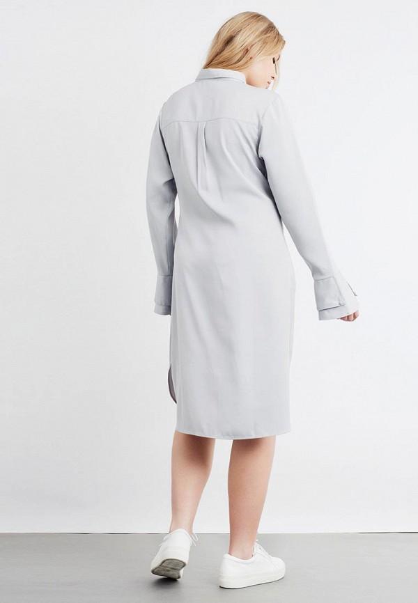 Фото 3 - Платье LOST INK PLUS серого цвета