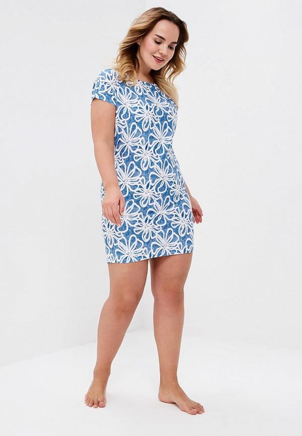 Купить Сорочку ночная Лори голубого цвета