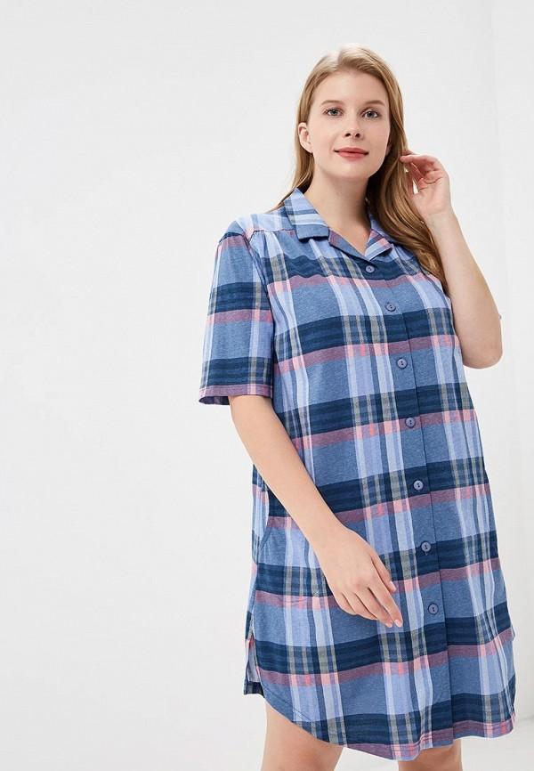 Купить Платье домашнее Лори, lo037ewcxxw8, синий, Осень-зима 2018/2019