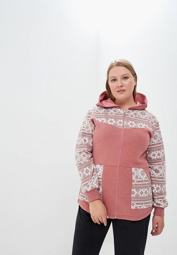 Купить Худи домашнее Лори, lo037ewcxxy0, коралловый, Осень-зима 2018/2019