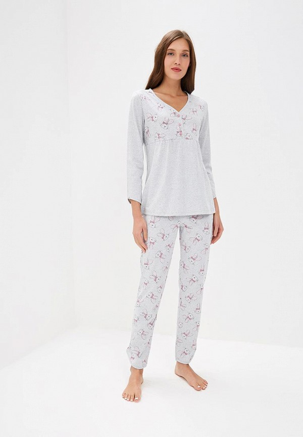 Купить Пижама Лори, lo037ewearf0, серый, Весна-лето 2019