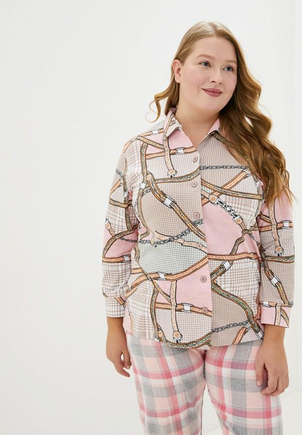Купить Рубашку домашняя Лори розового цвета