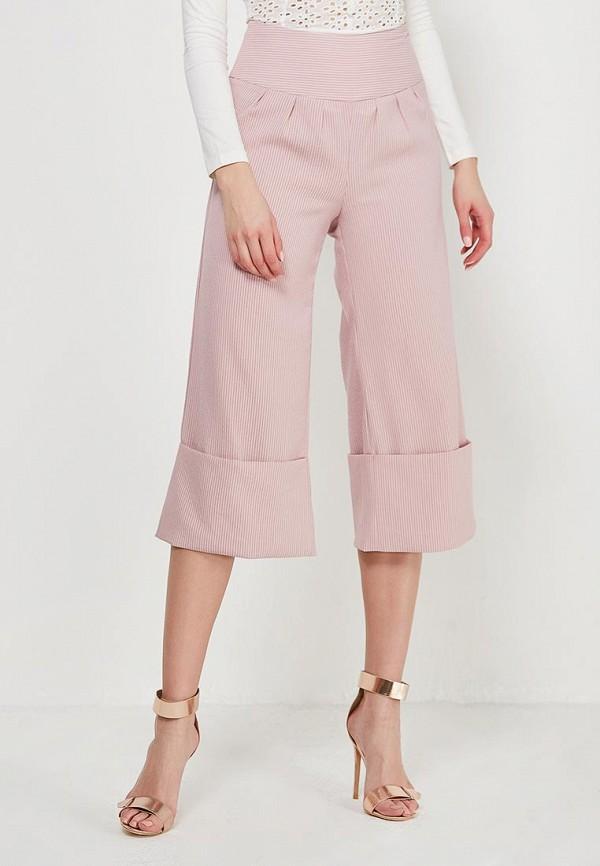 женские брюки lost ink petite, розовые