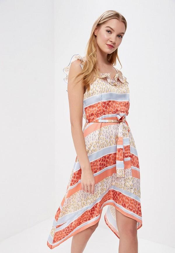 Платье Lost Ink Petite Lost Ink Petite LO040EWBDEM1 цены онлайн
