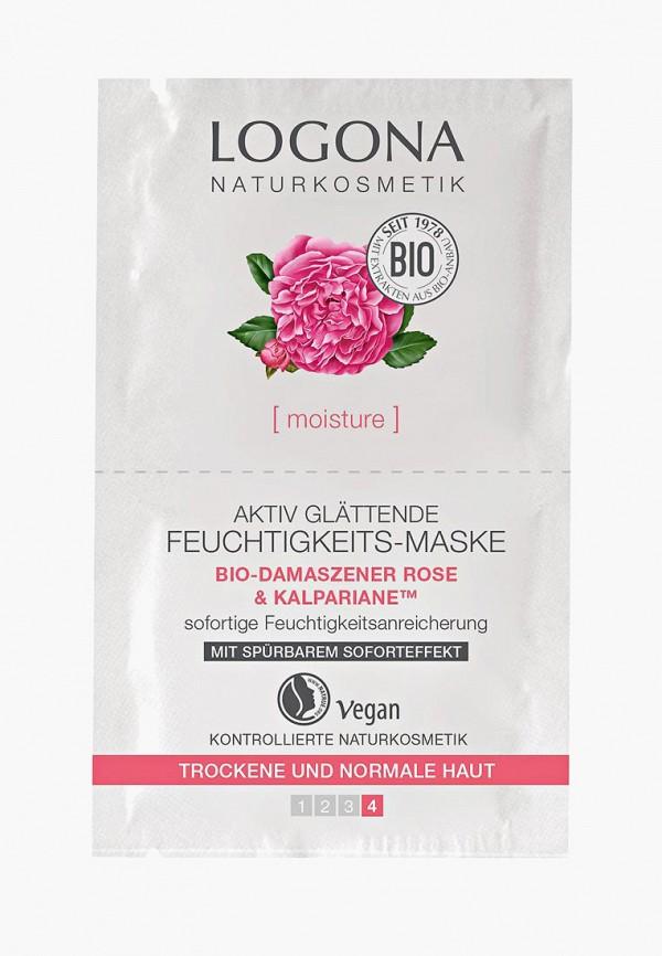Маска для лица Logona Logona LO042LWAZVZ7 маска для увлажнения и активного разглаживания с био дамасской розой и комплексом kalpariane logona
