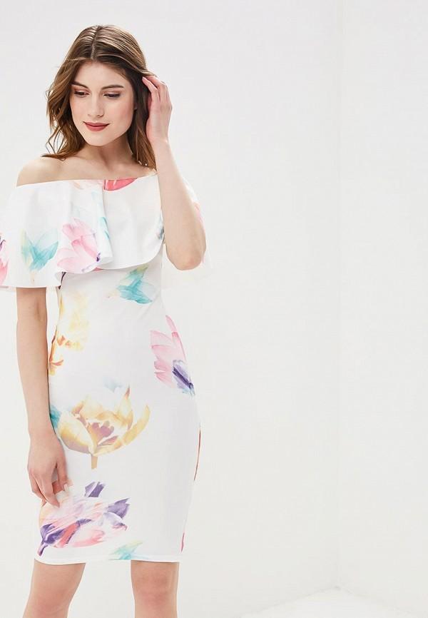 Купить Платье Lozana Paris, LO043EWBJIN7, белый, Весна-лето 2018