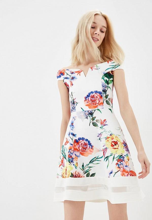 Купить Платье Lozana Paris, LO043EWBJIO1, белый, Весна-лето 2018