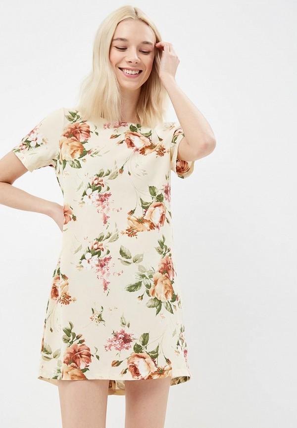 Купить Платье Lozana Paris, lo043ewbjji4, бежевый, Весна-лето 2018