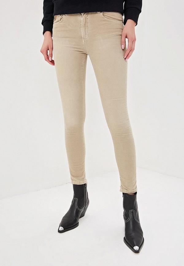 женские повседневные брюки lois, бежевые