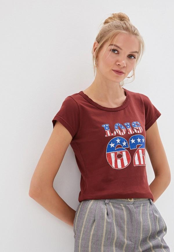 где купить Футболка Lois Lois LO049EWFGVQ8 по лучшей цене