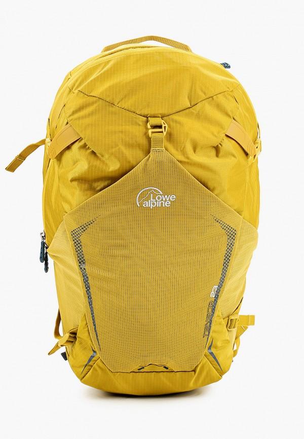 женский рюкзак lowe alpine, желтый